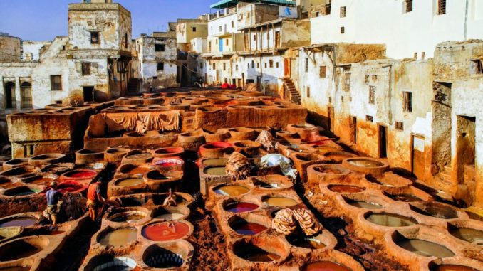 Из Москвы в Марокко
